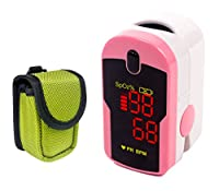 Ever Ready First Aid LED Fingertip Pulse Oximeter Pink