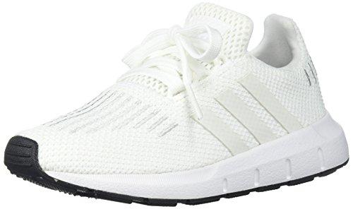 adidas Originals Baby Swift Running Shoe, Crystal White/Blac
