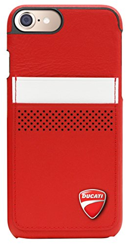 Ducati Coque pour iPhone 7/iPhone 6s/iPhone 6 Rouge