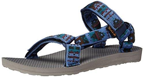 Teva Hombres M original universal Woolrich sandalia olmeca azul