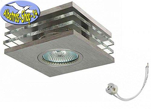 Kanlux rovan CTX techo empotrable plata para 12 V Max. 50 W halógeno, Lámpara de techo, Downlight,: Amazon.es: Iluminación