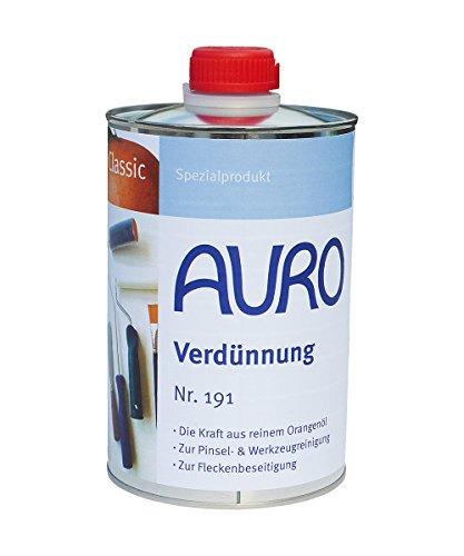 AURO Orangenöl Classic Nr. 191, 1,00 Liter