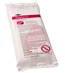 Dispatch 69260 Hospital Cleaner Disinfectant Towel with Bleach (60 Count)