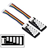 2 Pack ShareGoo JST-XH 2S-6S 3S Balance Charger Extend Expansion Board Adapter Converter for RC Vehicles Lipo Battery Charging