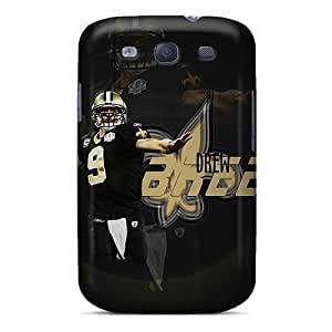 Hot Fashion TPD6162Arac Design Cases Covers For Galaxy S3 Protective Cases (new Orleans Saints)