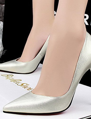 ShangYi Rosa Rot golden Damenschuhe Gold Stöckelabsatz Kleid High Burgund Silber Schwarz Heels Hochzeit Kunstleder Absätze fRZfwgqr