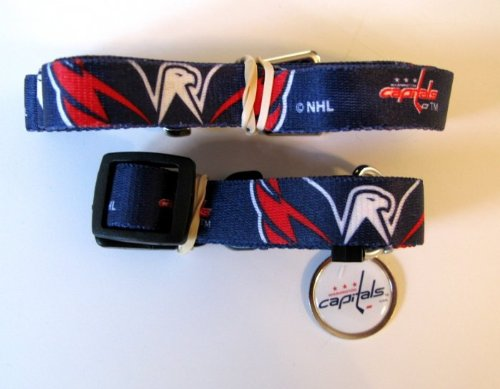 Hunter Washington Capitals Pet Combo (Includes Collar, Lead, ID Tag), Small