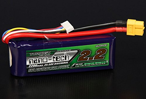 Turnigy nano-tech 2200mah 4S 25~50C Lipo Pack