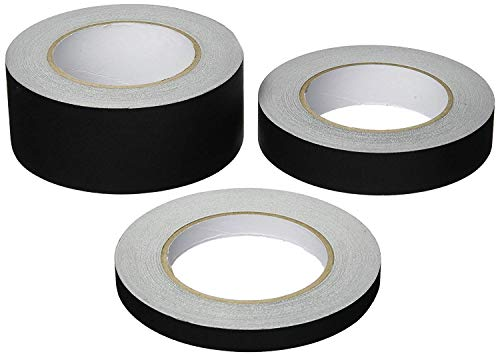 Gaffers Tape Black 2 Inch X 30 Yard Roll Main Stage Gaff Easy Tear No Reflection