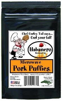 Chef Piggy Tail Microwave Pork Puffies Pork