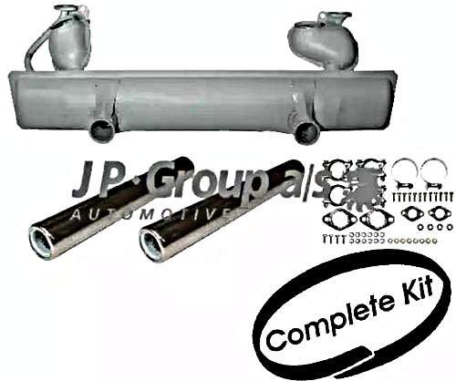(JP Exhaust System Rear Full Set Fits VW Beetle Cabrio Kaefer 113251053L)