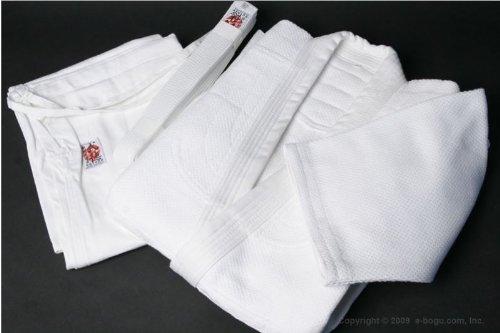e-bogu BUTOKU Brand Double Layer Aikido Uniform Set