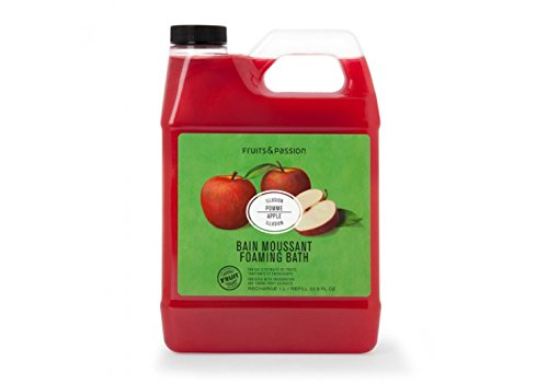Fruits & Passion Foaming Bath - Fruits and passion Bath and Body Foaming Bath Refill 1L (Apple Illusion)