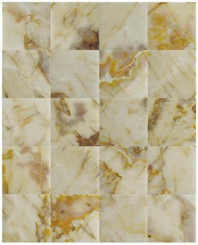 Premium Super Quality White Onyx Solid Polished Flooring Solid Tiles 12''x12'' Bathroom Flooring Tile. Each Tile is 1 sqf. MINIMUM ORDER 10 TILES
