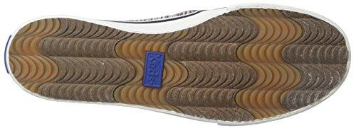 Keds Double Decker Woven Stripe 663 Damen Turnschuhe (36, Cream Multi)
