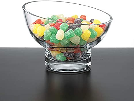 Amazon Com Badash Kira Crystal Candy Dish Or Serving Bowl 6 Handmade Mouth Blown Lead Free Crystal Bowl With Slanted Rim Great Home Decor Gift For Wedding Housewarming Holidays Home Kitchen