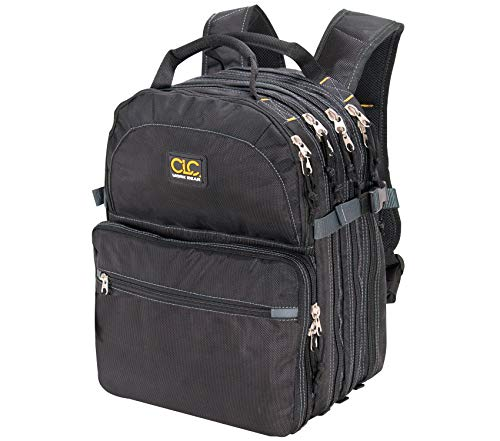 CLC Custom LeatherCraft 1132 75-Pocket Tool Backpack (Custom Leathercraft 1134 Tool Backpack 48 Pocket)