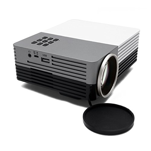 Vedio projector ourspop g50 mini multimedia portable for Portable projector with hdmi input