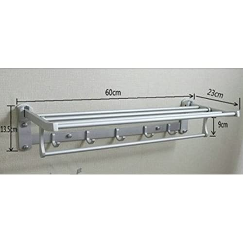 low-cost Folding double Towel rack/ double-bar Towel rack/ Bathroom double towel bar