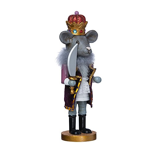 s Kurt Adler Hollywood Mouse King Nutcracker, 12-Inch (12 Nutcracker)