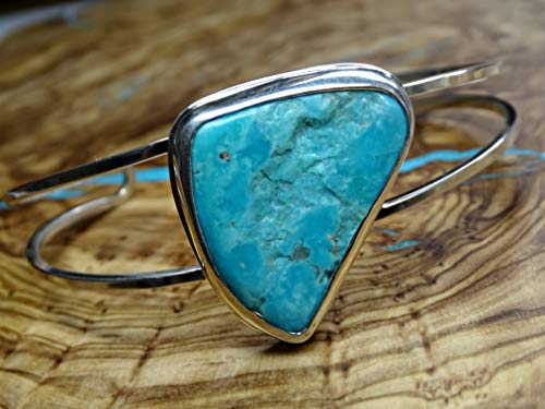 turquoise bracelet silver turquoise cuff bracelet, turquoise cuff bracelet silver, Southwestern jewelry, birthstone gift for wife