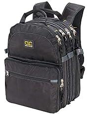 Custom LeatherCraft 1132 mochila - Mochila para portátiles y netbooks (Negro, Poliéster, 330.2 x 228.6 x 444.5 mm)
