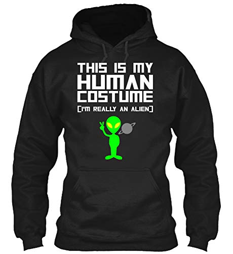 This is My Human Costume I'm Really an Alien T Shirt Men Women (Gildan 8oz Heavy Blend -