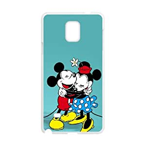 Samsung Galaxy Note 4 Cell Phone Case White Minnie Mouse 003 Delicate gift AVS_687663
