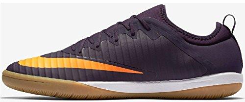 Nike 831974-589, Botas De Fútbol para Hombre PURPLE DYNASTY/BRIGHT CITRUS