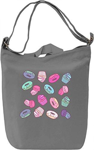 Colourful Sweet Desert Borsa Giornaliera Canvas Canvas Day Bag  100% Premium Cotton Canvas  DTG Printing 