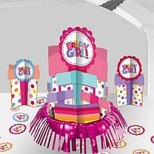 Kit de decoraciones mesa fiesta cumpleaños niña - 32cm ...