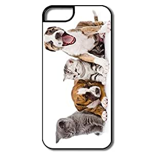 Nerd Cats Dogs Full Protection PC Iphone 5s Shell