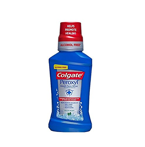Colgate Peroxyl Antiseptic Oral Cleanser