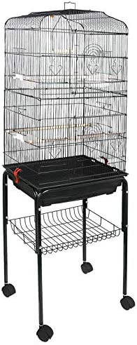 zeny-593-bird-cage-with-rolling-stand