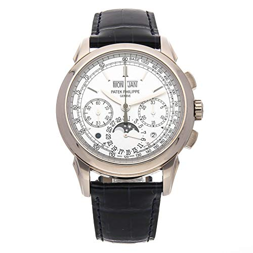 Patek Philippe Grand Complications Mechanical (Hand-Winding) Silver Dial Mens Watch 5270G-018 (Certified Pre-Owned)