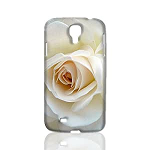 White Rose Picture 3D Rough Case Skin, fashion design image custom, durable hard 3D case cover, Case New Design for Iphone 5/5S Case Cover , By Codystore