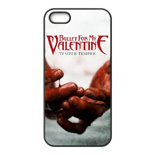 Bullet For My Valentine 003 2 coque iPhone 4 4S cellulaire cas coque de téléphone cas téléphone cellulaire noir couvercle EEEXLKNBC23944
