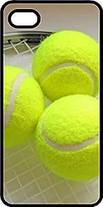 meilz aiaiTennis Balls On Racquet Black Rubber Case for Apple iPhone 4 or iPhone 4smeilz aiai