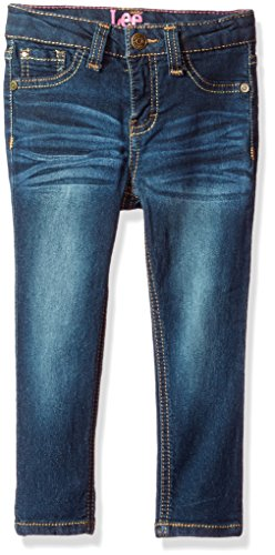 Lee Toddler Girls' Sophia Skinny Jean, Biker Blue, 2T (Skinny Jeans For Toddler Girls)