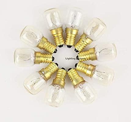 Lámpara de filamento Horno Bombilla Cristal de sal Lámpara ...