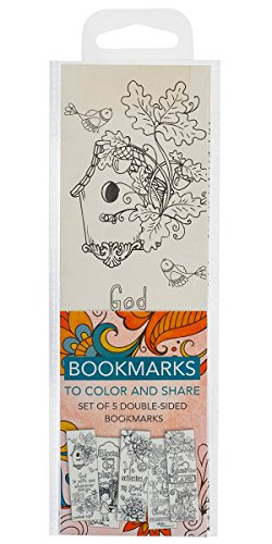 Creative Expressions of Faith Collection #4: Bookmarks to Color and Share - 5 Pack from Christian Art Gifts