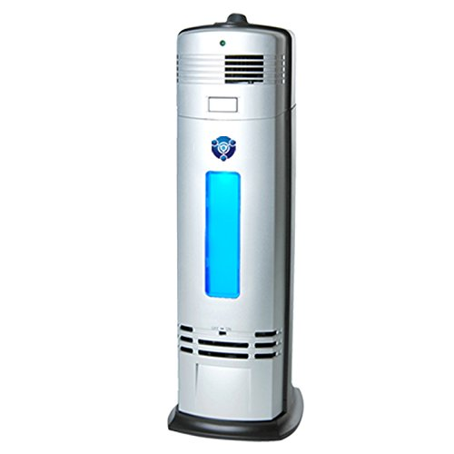OION Technologies B-1000 Permanent Filter Ionic Air Purifier Pro Ionizer with UV-C Sanitizer, New (Silver)