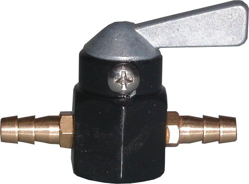 Motorcycle Petrol Tap On-Off 6mm In Line.
