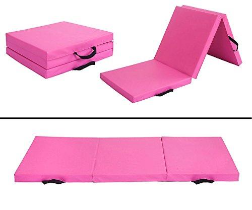 PayLessHere 6′ Folding Panel Gymnastics Mat Gym Fitness Exercise Mat