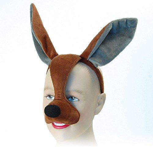 Bristol Novelty EM343 Kangaroo Eye Mask with Sound
