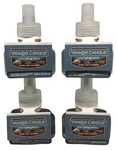 Yankee Candle Warm Luxe Cashmere ScentPlug Refill 4-Pack