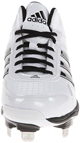 discount many kinds of adidas Performance Men's Excelsior Pro Metal Mid Baseball Cleats Turf Shoes Ftwr White/Black/Metallic Silver outlet pictures CqAOZ0Sg