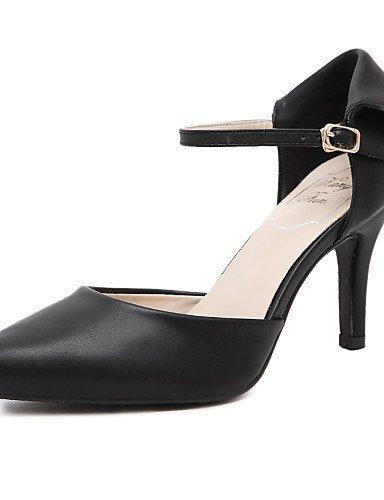 Women's Black Toe Slingback Heels Shoes ShangYi Sandals Red Dress Open Stiletto Heel BgqxdR