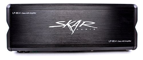 Skar Audio LP-80.4ABv2 480 Watt Class AB 4-Channel Amplifier - Powerhouse Amplifier