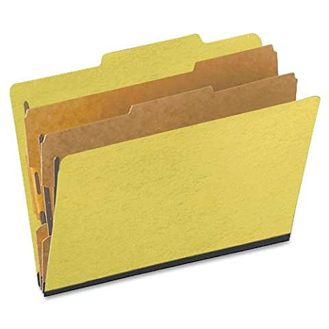 Pendaflex TOPs Products Oxford Pressguard Classification Folders (ESS1257Y) (Top Products)